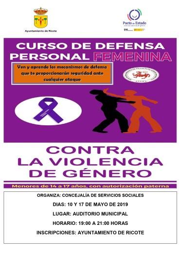 CURSO DE DEFENSA PERSONAL FEMENINA