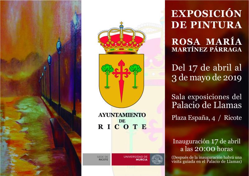 Exposición de Rosa María Martínez Párraga