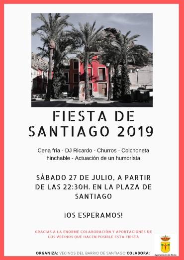 ¡FIESTA DE SANTIAGO 2019!