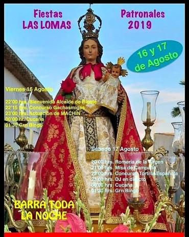 FIESTAS DE LAS LOMAS 2019
