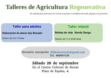 Talleres de Agricultura Regenerativa