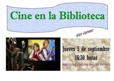 CINE EN LA BIBLIOTECA MUNICIPAL