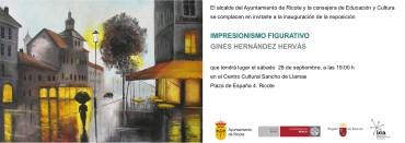 """Inauguración de la exposición """"Impresionismo figurativo"""""""