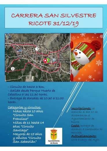 CARRERA DE SAN SILVESTRE RICOTE 2019