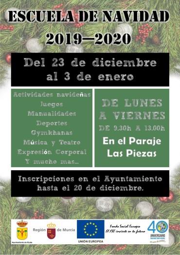 ESCUELA DE NAVIDAD 2019-2020