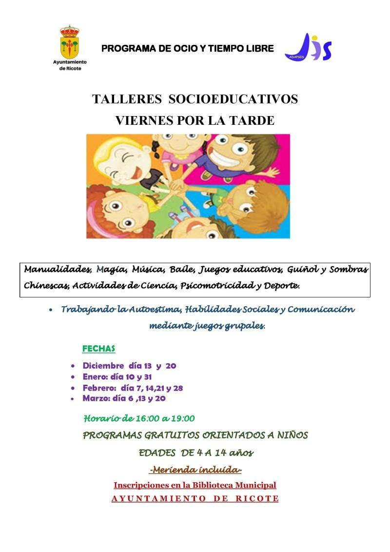 TALLERES SOCIOEDUCATIVOS