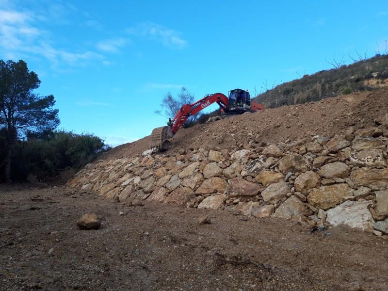 OBRAS DE REPARACIÓN Y MEJORA DEL CAMINO DE CAÑADA GIL