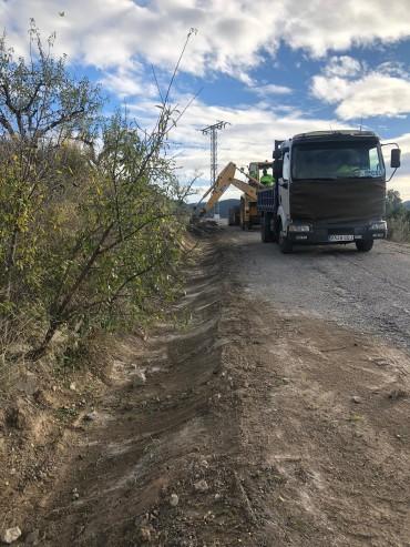 OBRAS DE REPARACIÓN Y MEJORA DEL CAMINO RURAL DE LA BERMEJA ALTA