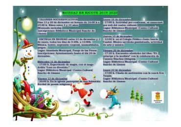 ACTIVIDADES TEMPORADA DE NAVIDAD (1 de 3)