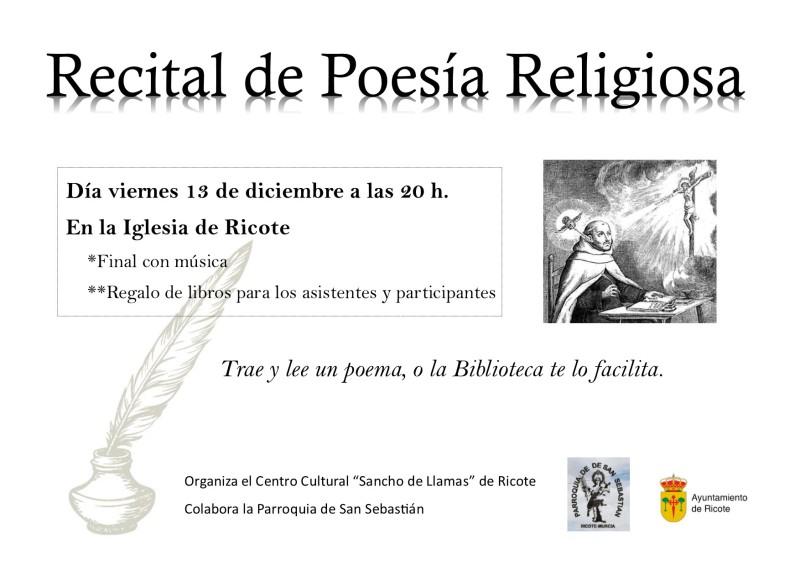 Recital de poesía religiosa