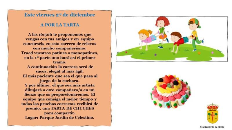 cartel A POR LA TARTA