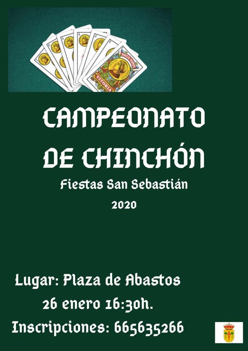 CAMPEONATOS DE JUEGOS FIESTAS DE SAN SEBASTIAN 2020