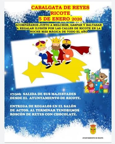 CABALGATA DE REYES RICOTE 2020