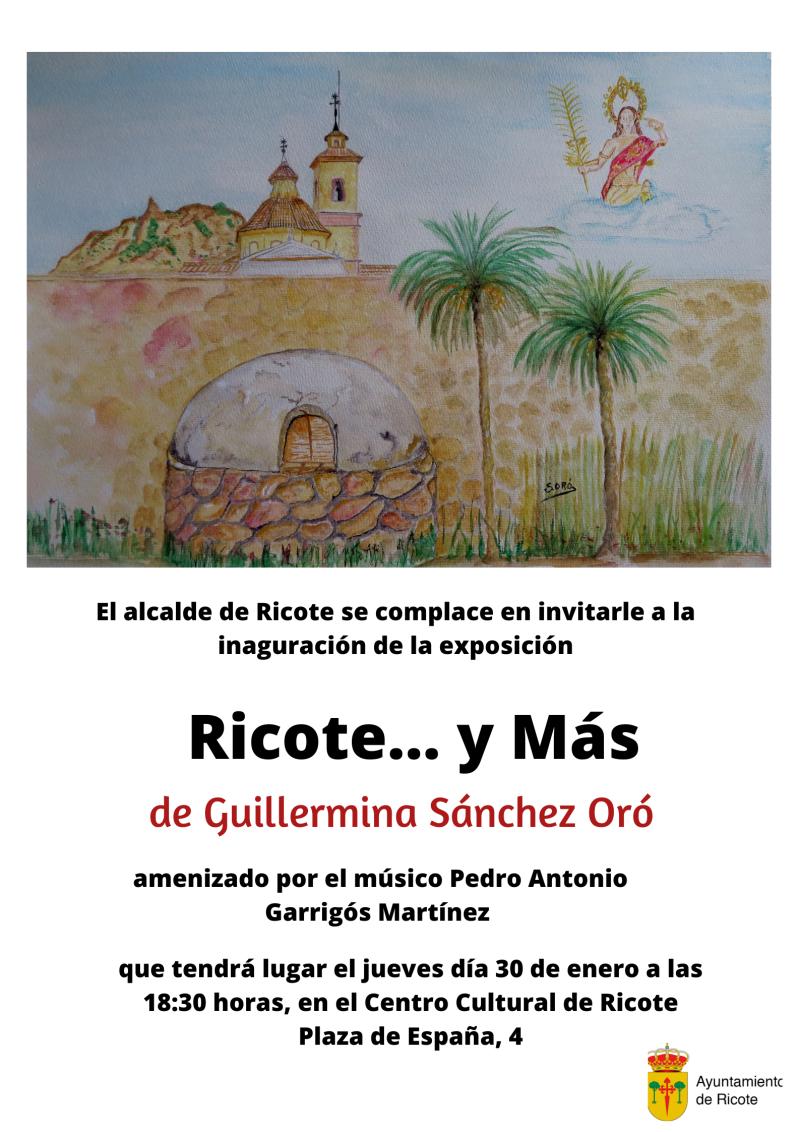 Exposición de Guillermina Sánchez Oró