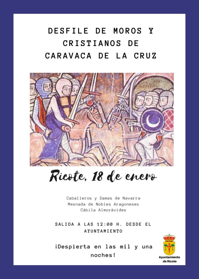 DESFILE DE MOROS Y CRISTIANOS DE CARAVACA DE LA CRUZ