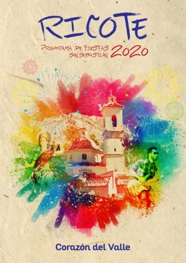 PROGRAMA FIESTAS DE RICOTE 2020.