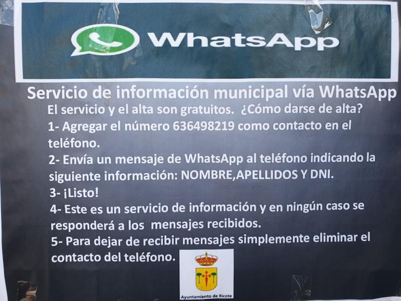 ¿AÚN NO CONOCES EL SERVICIO DE INFORMACIÓN MUNICIPAL VÍA WHATSAPP?