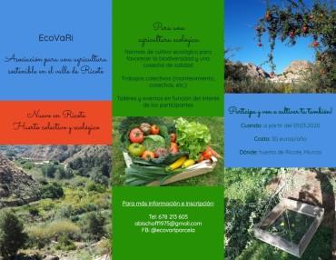 ECOVARI- PROYECTO SOBRE AGRICULTURA ECOLÓGICA EN RICOTE