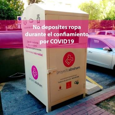 RECOGIDA DE CONTENEDORES DE ROPA