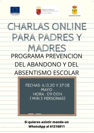PROGRAMA DE PREVENCIÓN DEL ABANDONO Y DEL ABSENTISMO ESCOLAR DE RICOTE