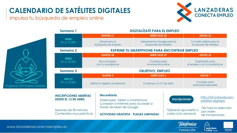 Calendario de Satélites Digitales