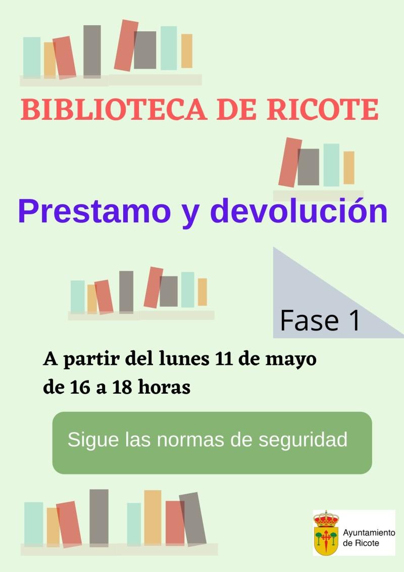 Biblioteca de ricote apertura