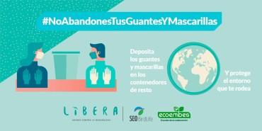 #NoAbandonesTusGuantesYMascarillas