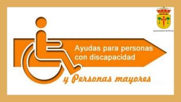 INFORMACIÓN SOBRE AYUDAS A PERSONAS MAYORES Y PERSONAS CON DISCAPACIDAD