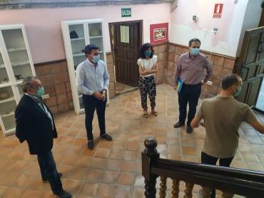 VISITA CONSEJERO DE AGRICULTURA Y MEDIO AMBIENTE Y DIRECTOR GENERAL DE AGUA AL MUNICIPIO