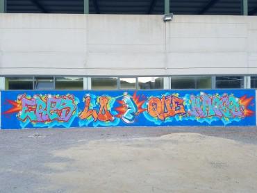 IMÁGENES TALLER DE GRAFFITTI