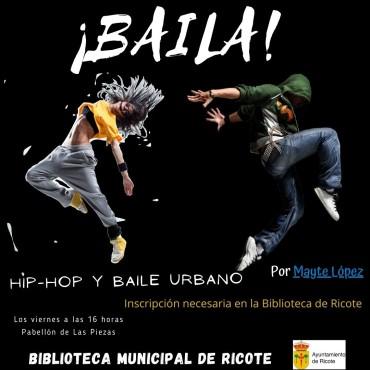 Taller de baile urbano y hip-hop