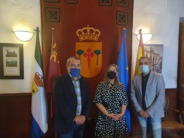 VISITA A RICOTE DE LA DIRECTORA GENERAL DE COMPETITIVIDAD Y CALIDAD TURÍSTICA  DE LA REGIÓN DE MURCIA