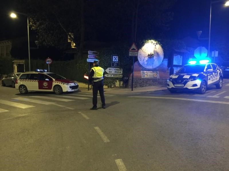 CONTROLES POLICÍA LOCAL NUEVO ESTADO DE ALARMA