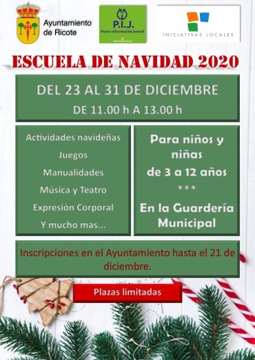 ESCUELA DE NAVIDAD 2020