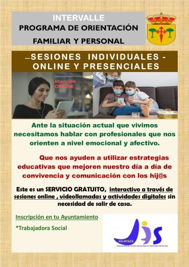 INTERVALLE: PROGRAMA DE ORIENTACIÓN FAMILIAR Y PERSONAL
