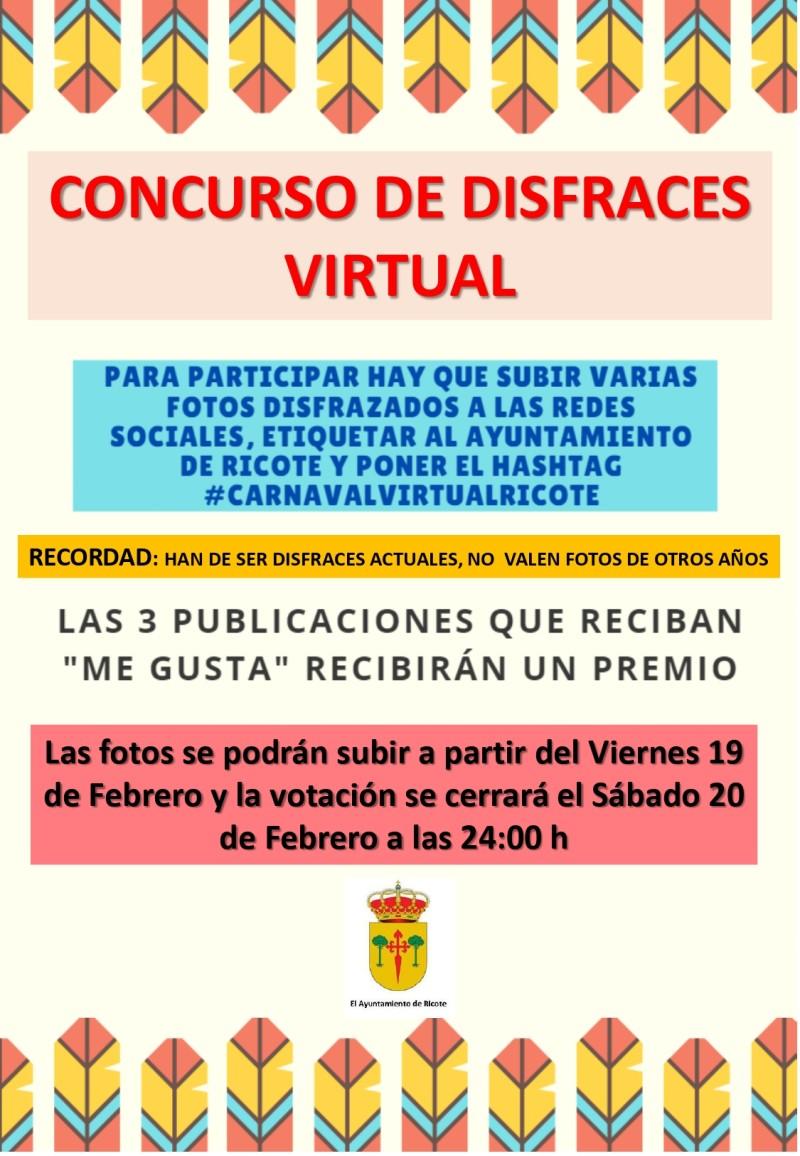 CONCURSO DE DISFRACES VIRTUAL