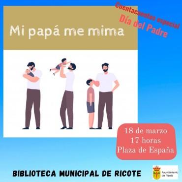 Cuentacuentos especial Día del Padre