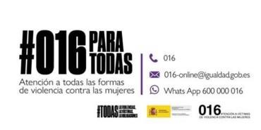 016 ATENCION A TODAS LAS FORMAS DE VIOLENCIA CONTRA LAS MUJERES
