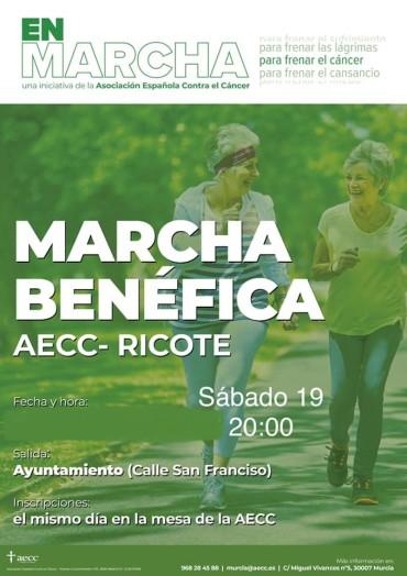 MARCHA BENÉFICA AECC RICOTE
