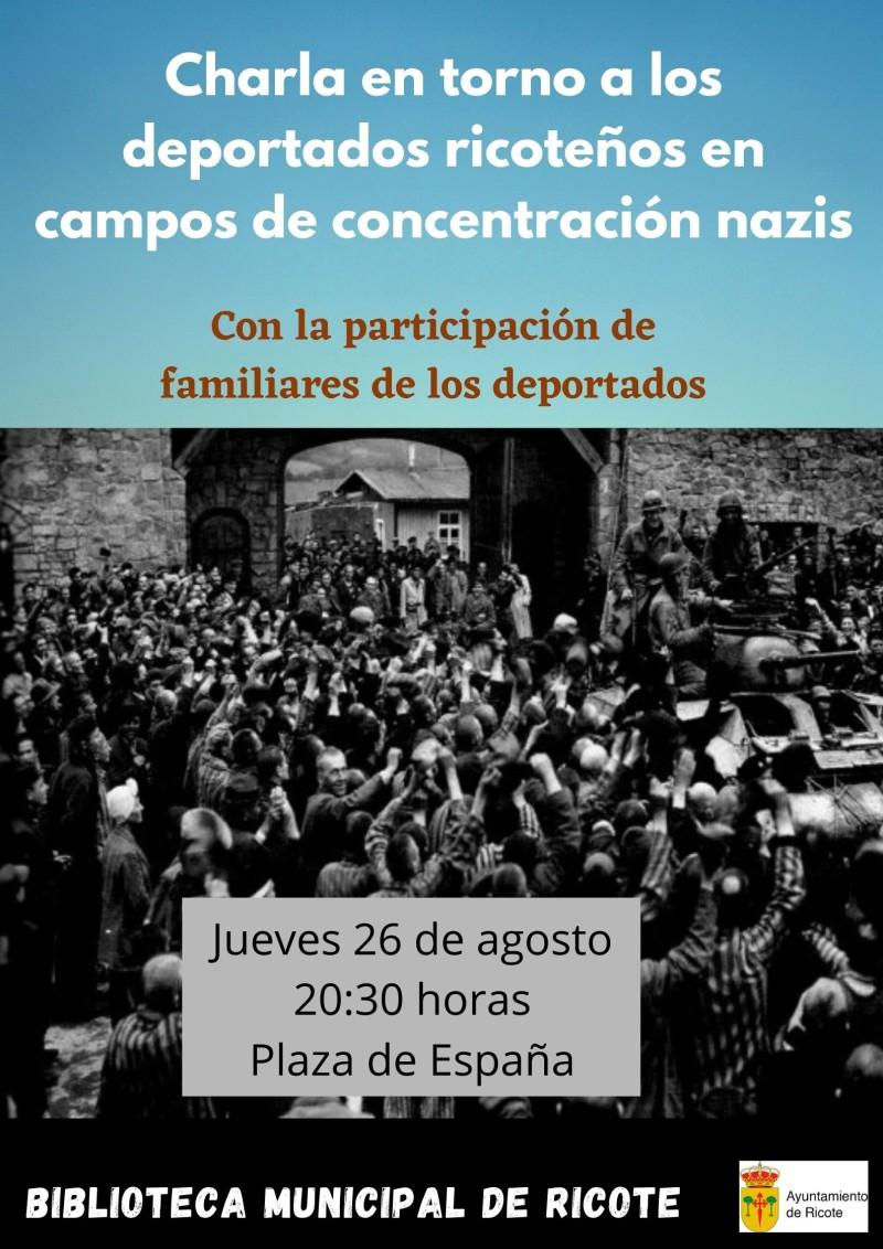 Charla: Deportados ricoteños en los campos de concentración nazis