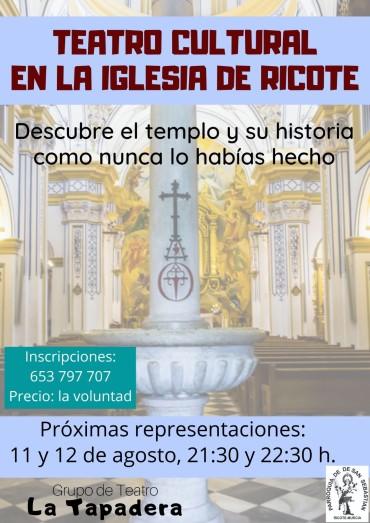 TEATRO CULTURAL EN LA IGLESIA DE RICOTE