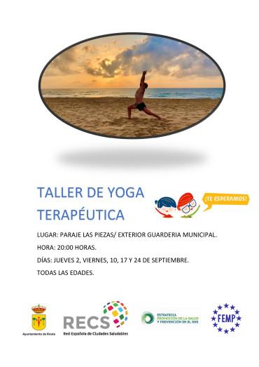 TALLER DE YOGA TERAPÉUTICA