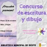Concurso de escritura y dibujo