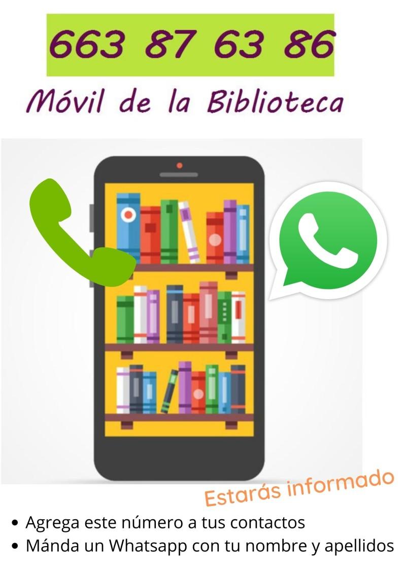 La Biblioteca estrena Whatsapp